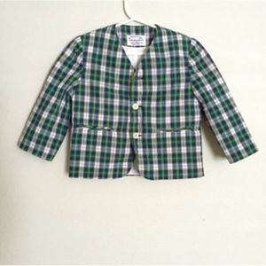 Other - Vintage Imp Originals Plaid Blazer